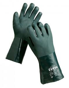 PETREL zöld kesztyű
