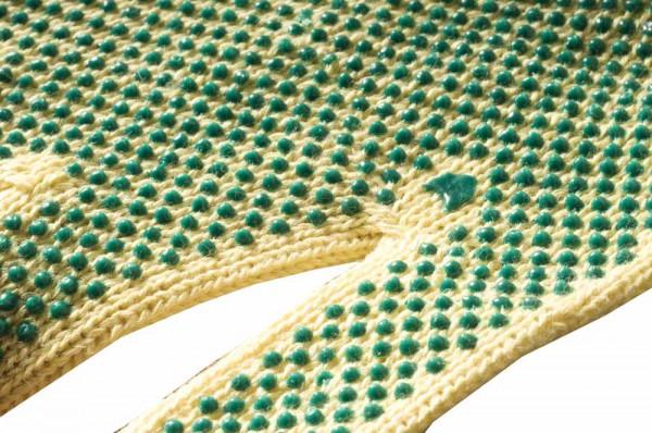CHIFFCHAF Kevlar kesztyű PVC pöttyös