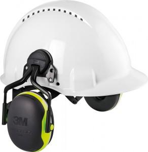 3M PELTOR lapos fülcsészével X4P3 SNR 32 dB