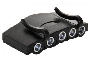 LED fejlámpa a HARDCAP fejvédőhöz